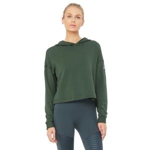 [Alo Yoga] Cozy cropped hoodie